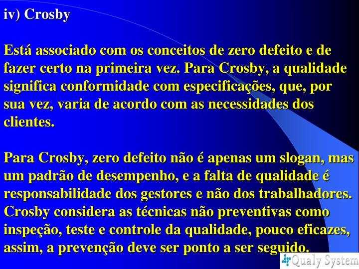 iv) Crosby