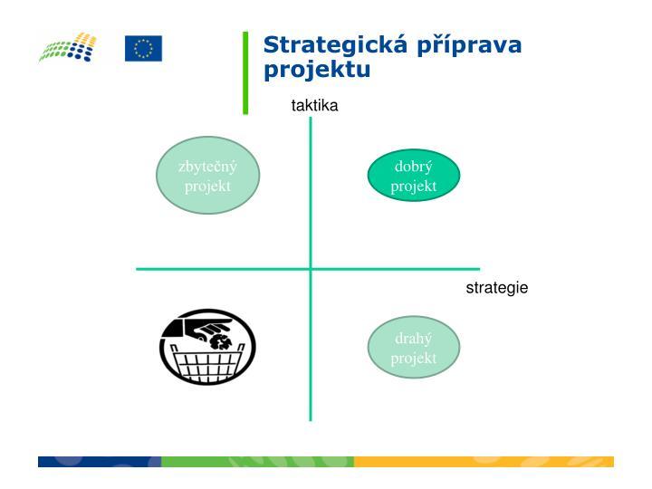 Strategická příprava projektu