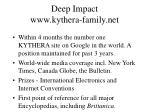 deep impact www kythera family net