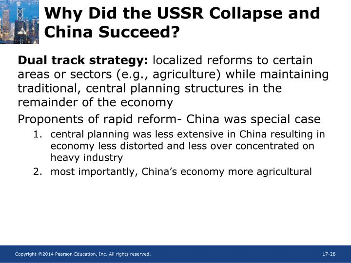 Why Did the USSR Collapse and China Succeed?