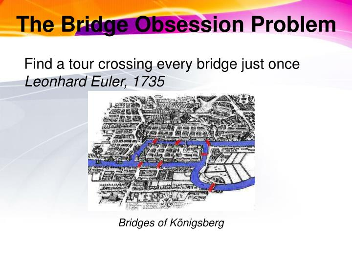 The Bridge Obsession Problem