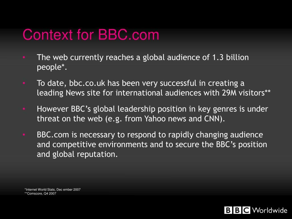 BBC Dating sito Web