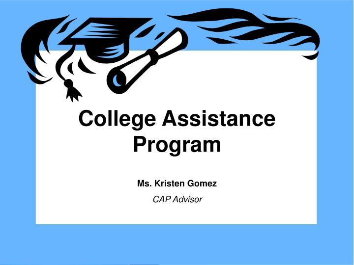 College Assistance Program