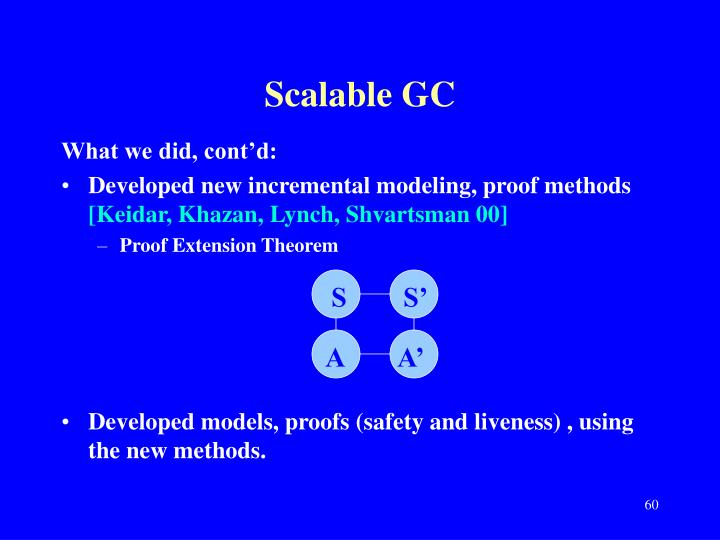 Scalable GC