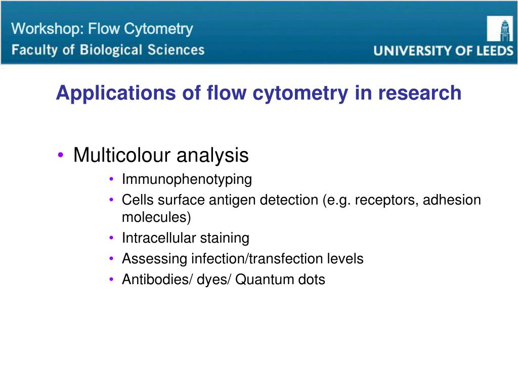 PPT - Flow Cytometry Workshop PowerPoint Presentation - ID