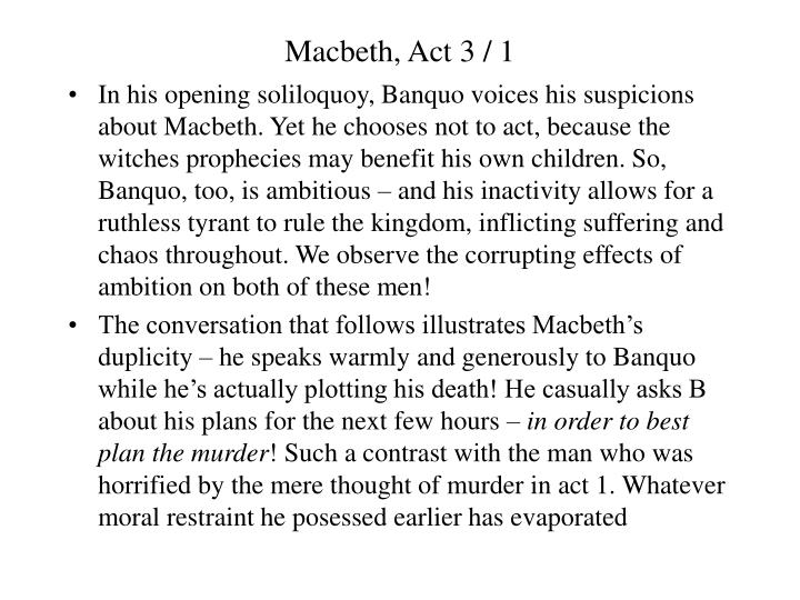 an analysis of the soliloquies in macbeth by william shakespeare Get an answer for 'how many soliloquies are in macbethmention in which act and scene they macbeth summary macbeth macbeth quiz william shakespeare.