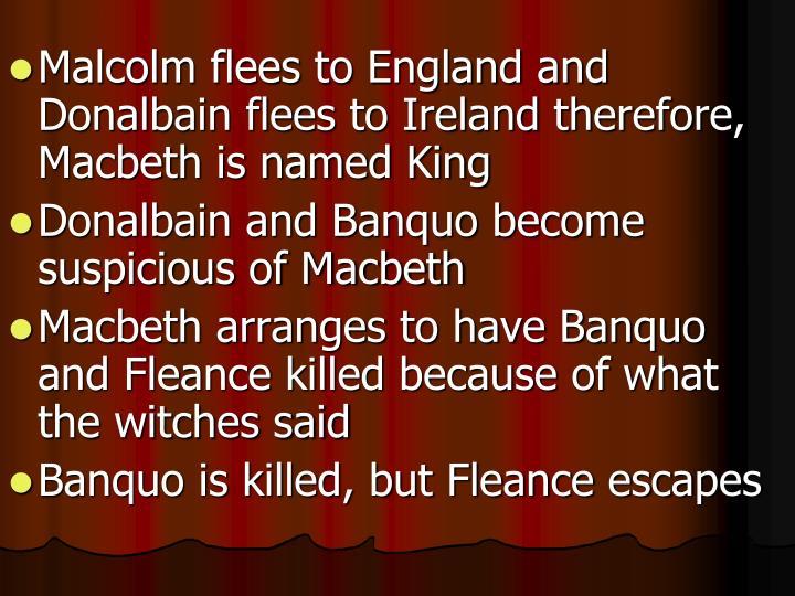 why did macbeth kill duncan essay