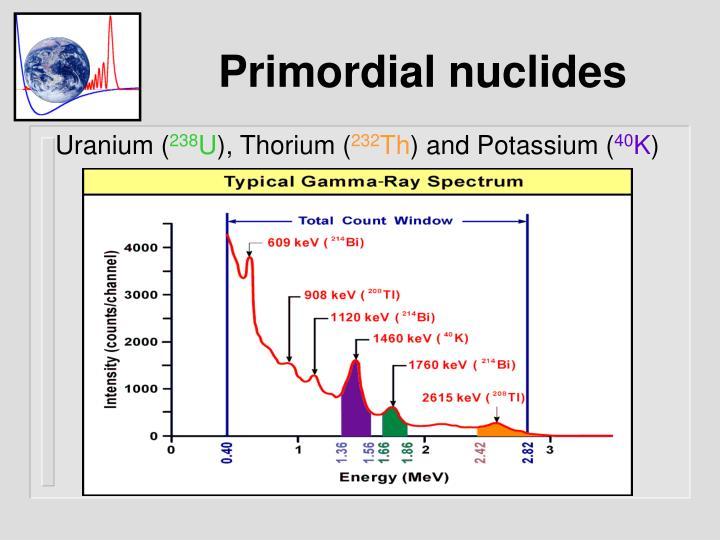 Primordial nuclides