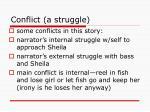 conflict a struggle