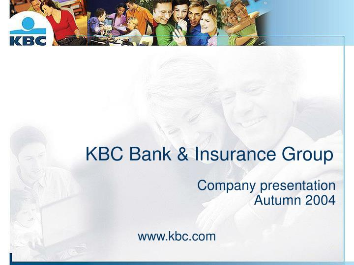 kbc bank insurance group n.