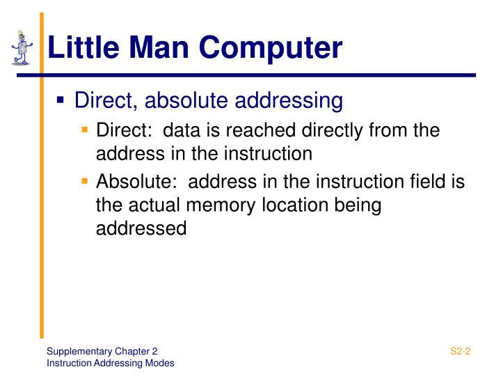 Little man computer