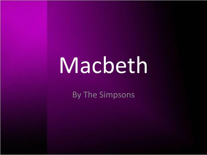 macbeth context From wwwsparknotescom: macbeth was most likely written in 1606, early in the reign of james i, who had been james vi of scotland before he succeeded to the english throne in 1603.