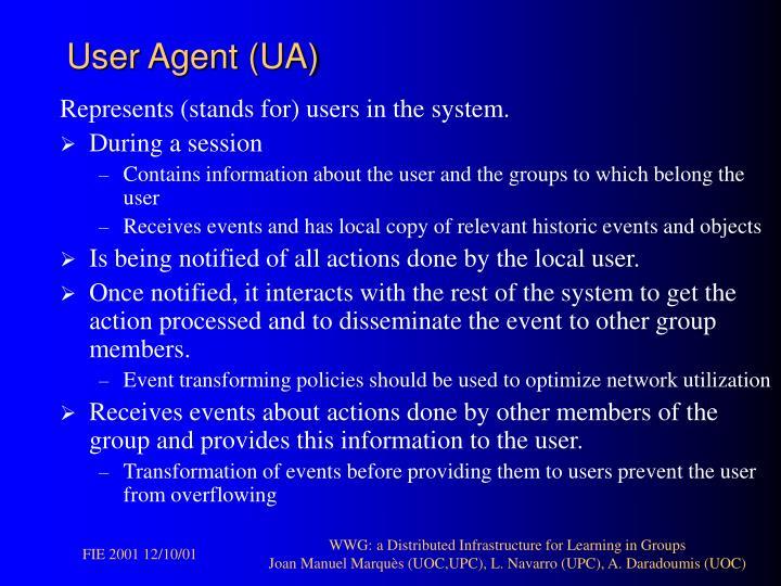 User Agent (UA)