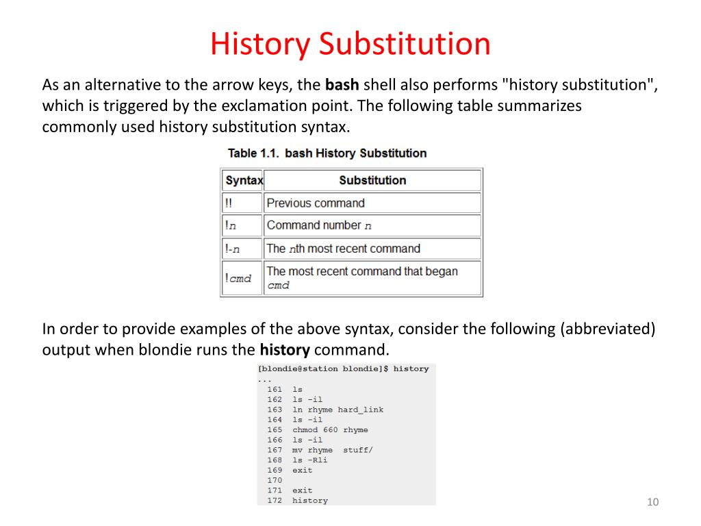 PPT - Workbook 6 The Bash Shell PowerPoint Presentation - ID