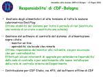 responsabilita di cdf bologna