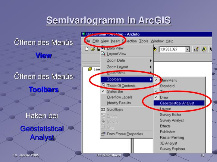 Semivariogramm in ArcGIS