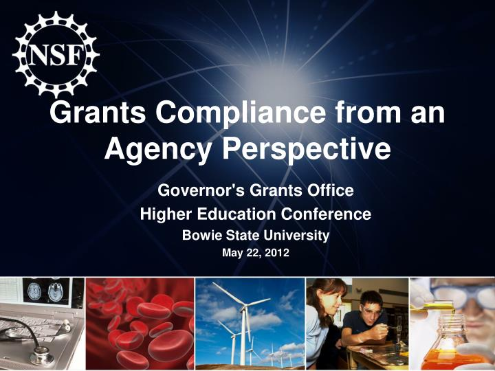 grants compliance from an agency perspective n.