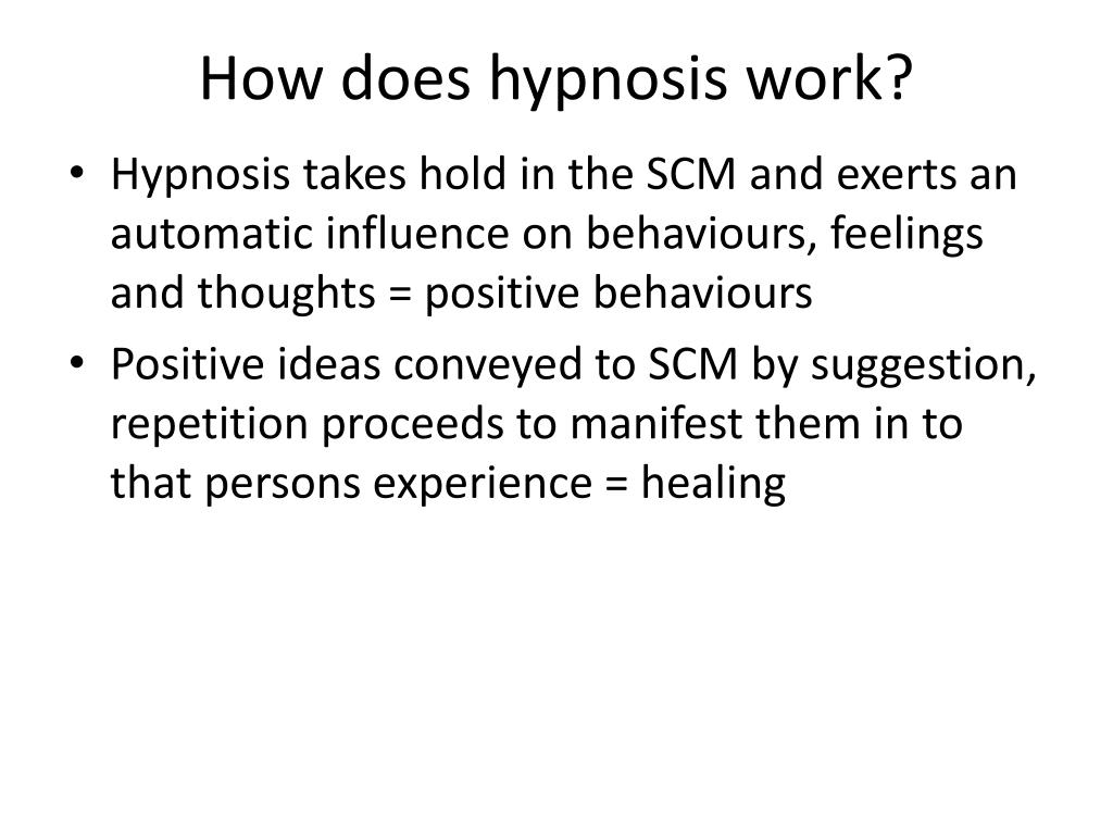 PPT - Hypnosis: Bowel dysfunction PowerPoint Presentation