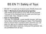 bs en 71 safety of toys