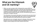 what are the kitemark and ce marking