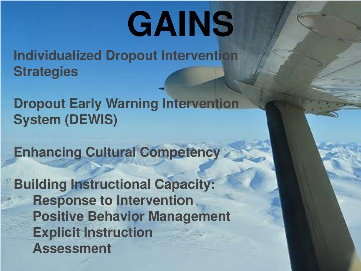 Individualized Dropout Intervention Strategies
