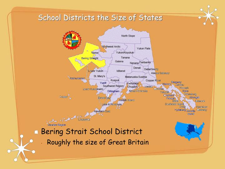 School Districts the Size of States