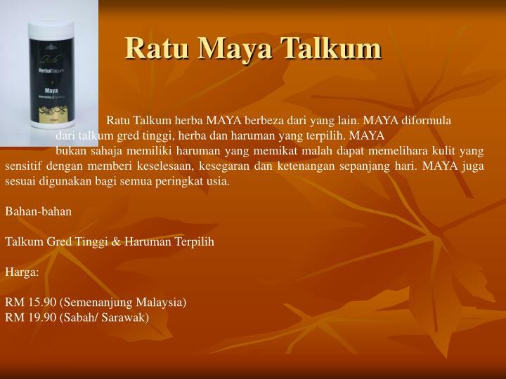 Ratu Maya Talkum