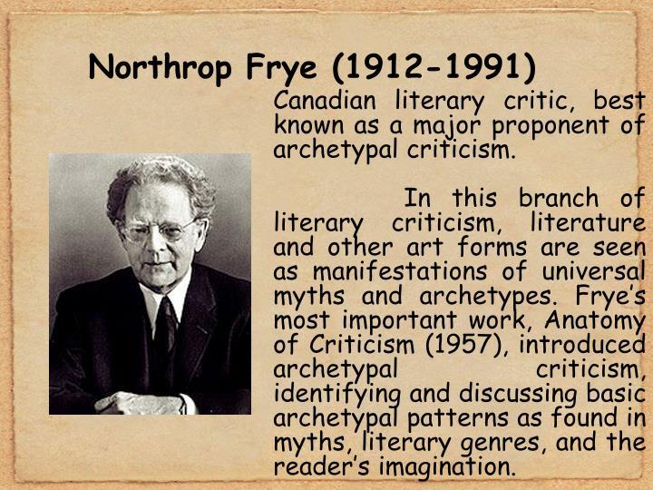 Northrop Frye (1912-1991)
