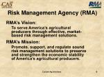 risk management agency rma1
