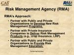 risk management agency rma2