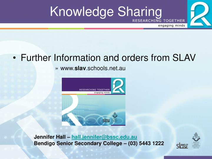 Knowledge Sharing