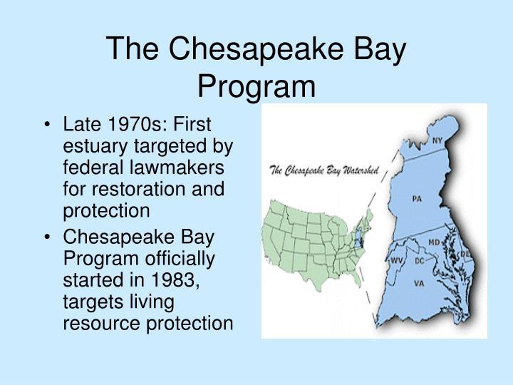 The Chesapeake Bay Program