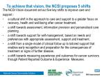 to achieve that vision the ncsi proposes 5 shifts