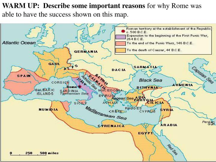 why was the roman republic facing Why was the roman republic important to world history that study is why americans have a what is the importance of the fall of the roman republic.