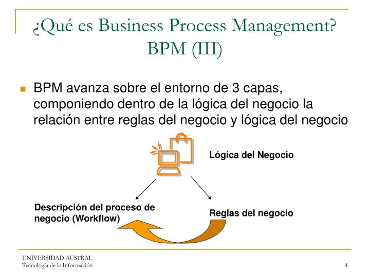 ¿Qué es Business Process Management? BPM (III)