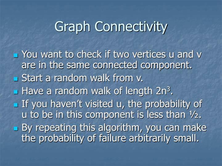 Graph Connectivity