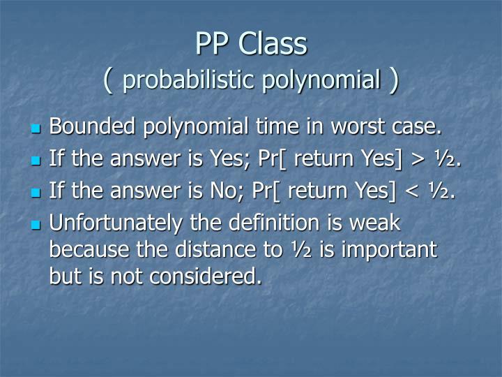 PP Class