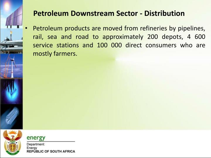 Petroleum Downstream Sector - Distribution