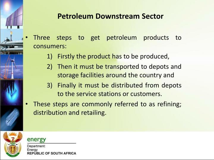 Petroleum Downstream Sector