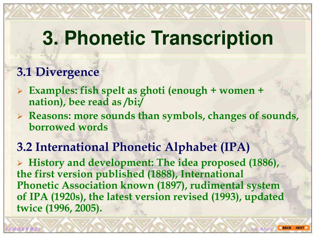 PPT - Chapter 2 Phonetics PowerPoint Presentation - ID:3783857