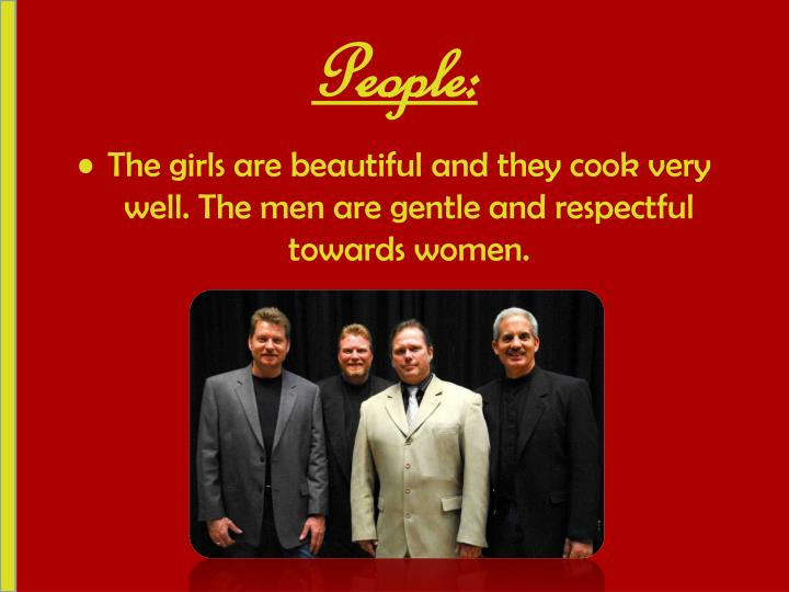 People: