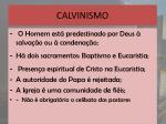 calvinismo