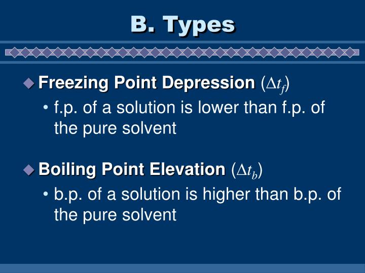 B types