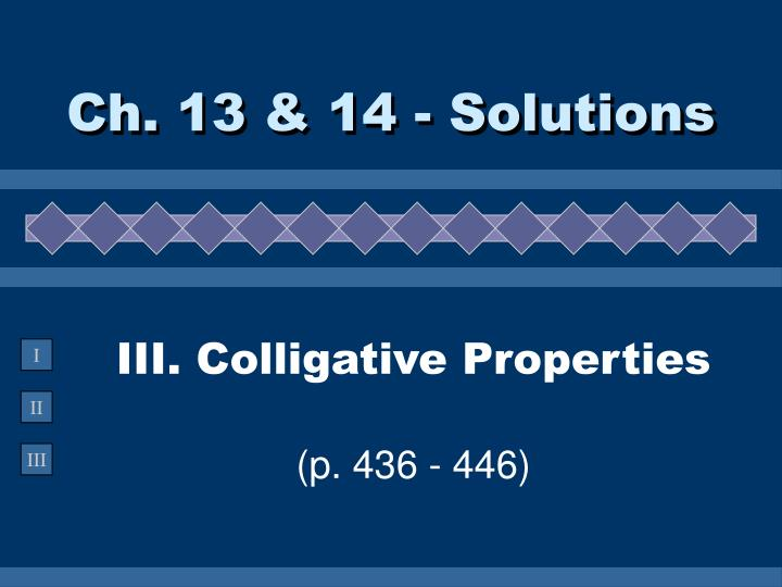 Ch 13 14 solutions