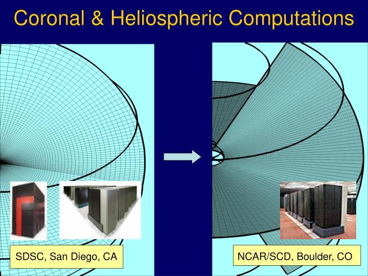 Coronal & Heliospheric Computations