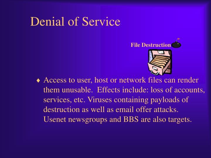 File Destruction