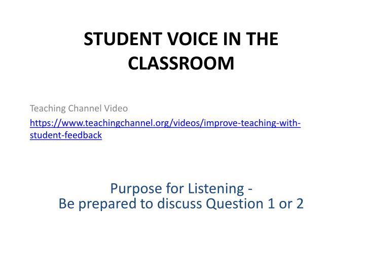 Teaching Channel Video