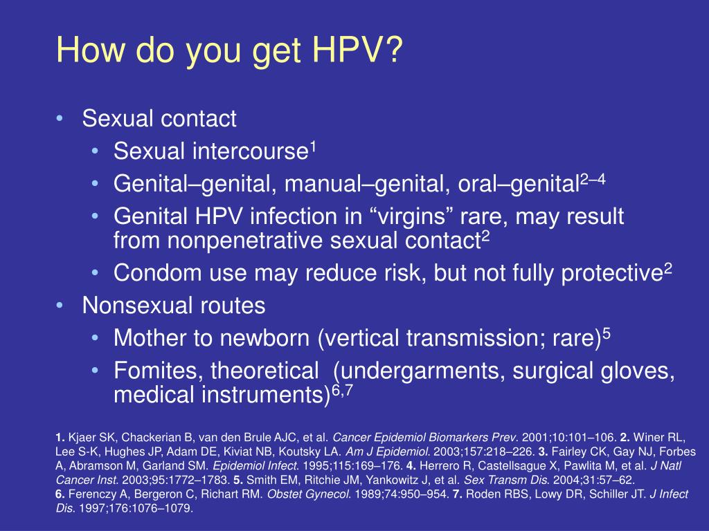 PPT - What causes cervical cancer ? PowerPoint Presentation
