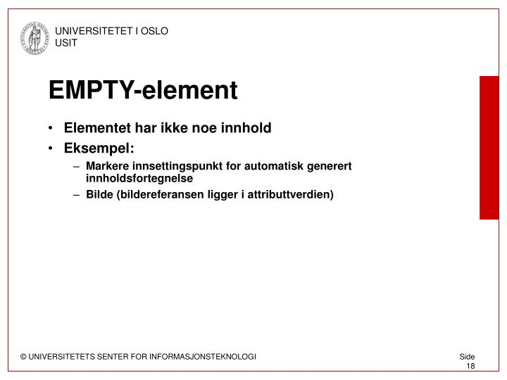 EMPTY-element