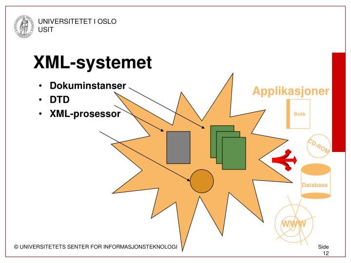 XML-systemet